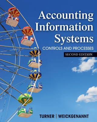 Accounting Information Systems By Turner, Leslie/ Weickgenannt, Andrea